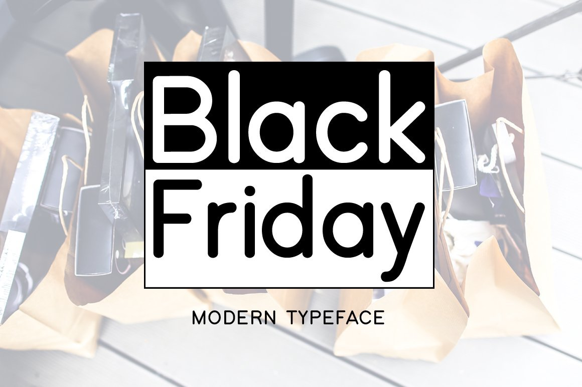 black friday font